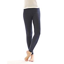 Girls Grey Basic Full Length Leggings