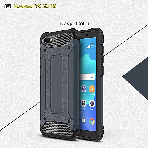 watch ae297 1db34 Case For Huawei Y5 2018 Back Cover Full Protect Shell Y5 2018 Y5(2018) 2 in  1 Armor Cases For Huawei Y5 2018 Phone Bags