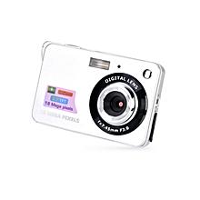 CO 2.7 Inch TFT LCD Display 18MP 720P 8x Zoom HD Anti-Shake Digital Camera-Silver
