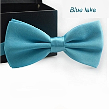 bluerdream-Classic Fashion Novelty Mens Adjustable Tuxedo Wedding Bow Tie Necktie - Lake Blue