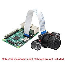 8mm focal length adjustable camera raspberry PI raspberry infrared night vision monitoring camera module 500W