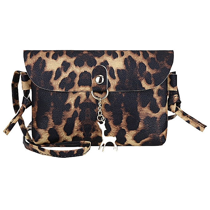 Fashion koadong shop Womens Leather Crossbody Bag Leopard Print Shoulder  Bags Messenger Bag Coin Bag 767c53b62d164
