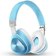 Wireless Bluetooth Headset NFC Bluetooth 4.1 Version Headphone Ecouteur (Color:Blue)