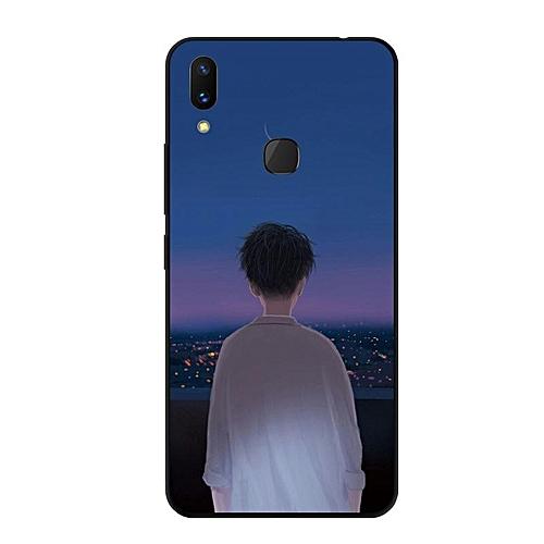 huge discount 5ca8b 6d37b For Vivo V11i Case Instagram Design Case Cover Fashion Painting Soft Casing  For Vivo V11i Cases