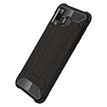 """Galaxy A8 Star Case,2 IN 1 Hybrid [Full Body] [Heavy Duty] Armor Case Dual Layer Shock Absorbing TPU Protective Case for Samsung Galaxy A8 Star/Galaxy A9 Star 6.30""""- Black"""