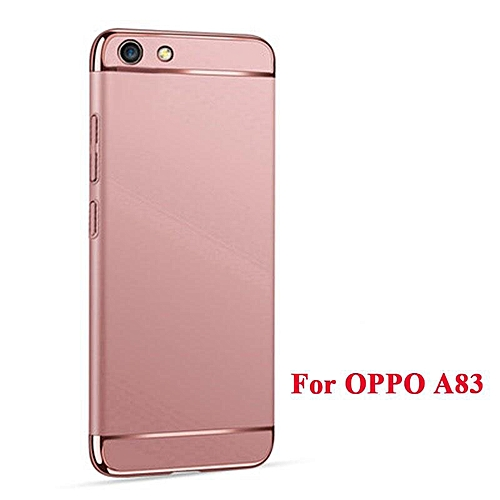 best service 53765 6d00d Phone Case For OPPO A83 3 In 1 Hard PC Protective Back Cover Case Anti  Falling Phone Cover Shockproof Phone Case 104086