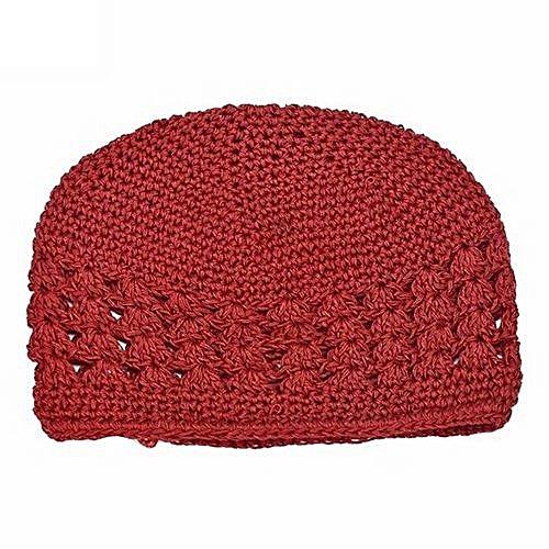 40aa5e464bd Bluelans Newborn Baby Girl Kids Cute Crochet Hat Red   Best Price ...
