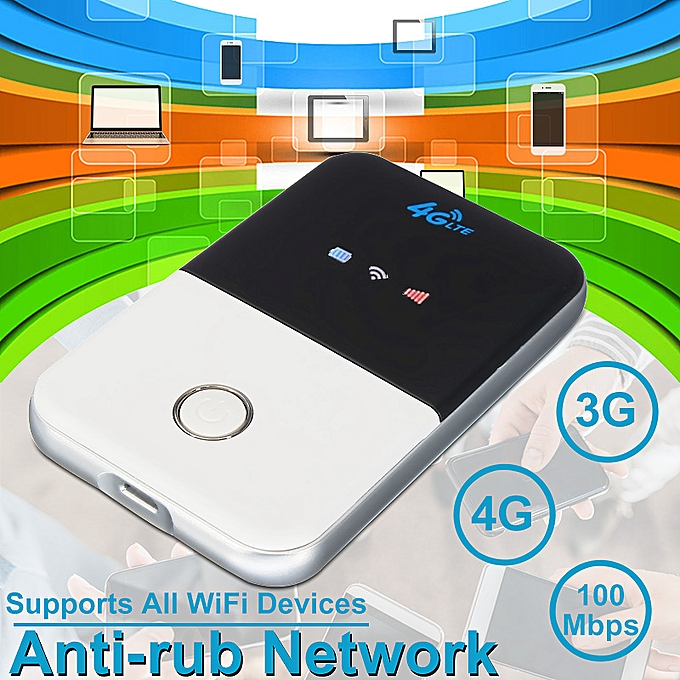 Portable 4G/3G LTE Mobile WiFi Wireless Pocket Hotspot Router Smart Modem  Kit UK