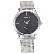2017 New Fashion Female Clocks Women Luxury Quartz Watch Rose Gold Watch E