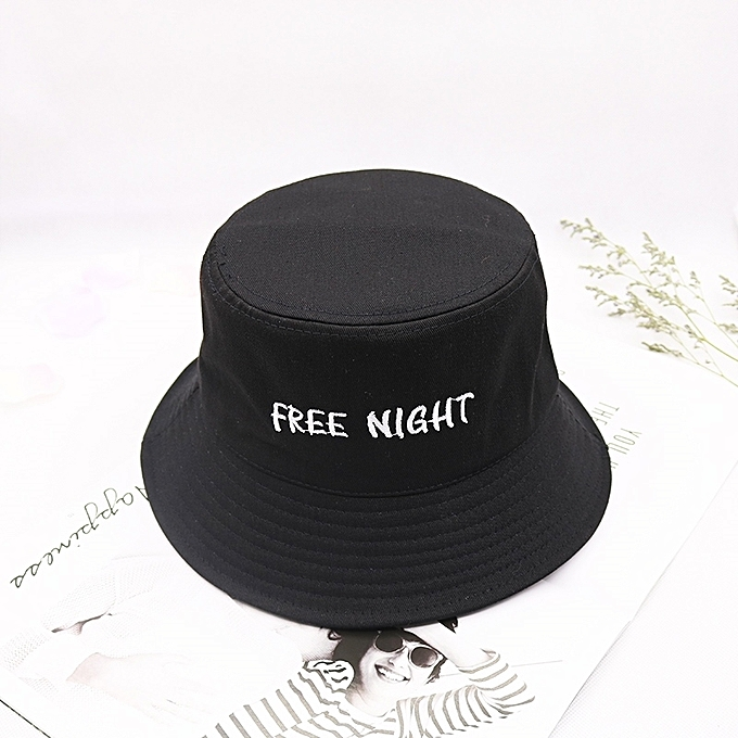 22623a2881e 1Black(the list lines up-free night)Ulzzang fisherman hat male tide card