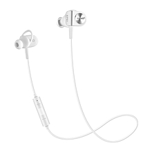 Meizu EP51 Bluetooth Sports Earbuds HiFi with Mic Support Hands-free Calls-WHITE