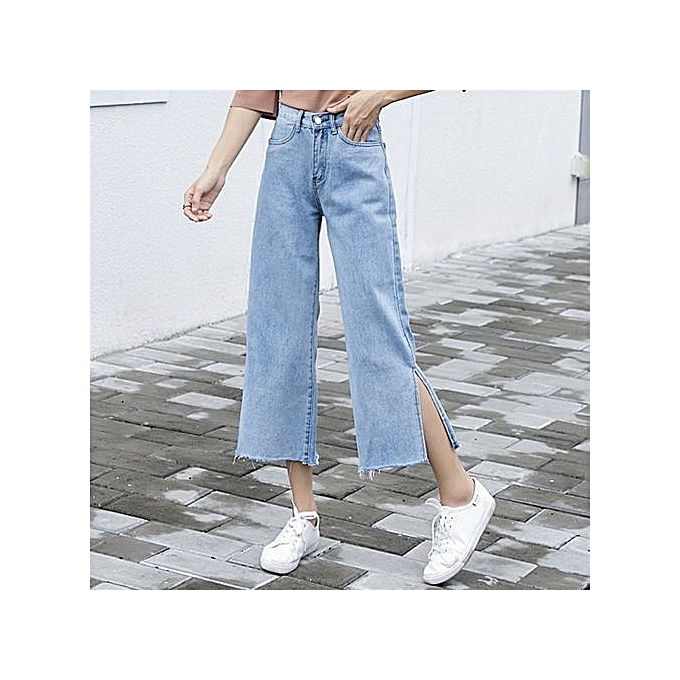 52adca8e5ae5 Wide leg pants denim wide leg pants spring and summer new korean version  jpg 680x680 Denim