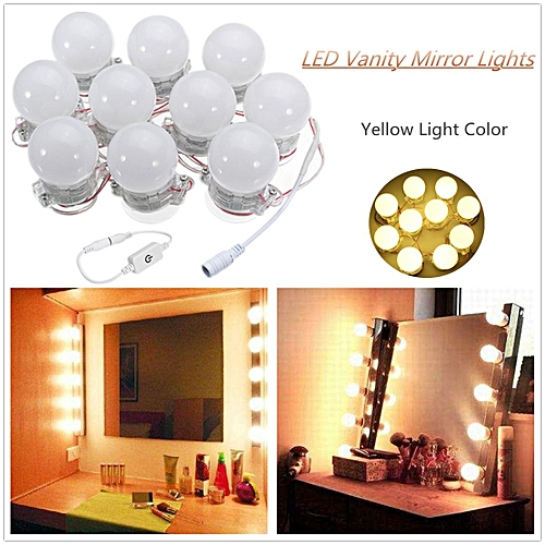Buy Generic 10 Pcs Hollywood Style Led Vanity Makeup Illuminated