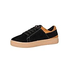 Tobacco & Black Women's Sneakers