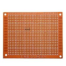 2pcs 7 x 9cm PCB Prototyping Printed Circuit Board Prototype Breadboard Stripboard