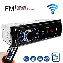 Car Stereo Audio Bluetooth In-Dash FM Aux Input Receiver TF/USB/MP3 Radio Player