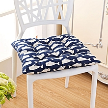 40 x 40cm Soft Thicken Cushion Buttocks Chair Cushion Linen Outdoor Square Cotton Seat Pad