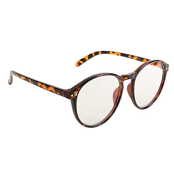 b0ab097091c Chic Round Eyeglass Frame Vintage Glasses Retro Spectacles Clear Lens  Eyewear