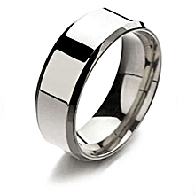 Titanium Ring Men Wedding Ring Simple Silver Black Gold Stainless Steel Rings Women Men Jewelry Size 13#