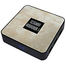 SCISHION RX4B TV Box 4GB RAM + 32GB ROM Android 8.1 2.4G WiFi 100Mbps BT4.0 Support 4K H.265 - LIGHT KHAKI