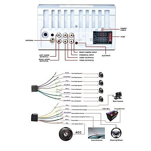 auto wiring diagrams book auto wiring diagrams fan buy generic touch screen car mp5 player bluetooth mp5 ...