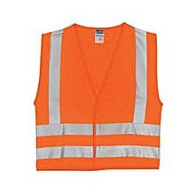 Fluorescent Reflector Jacket - Orange
