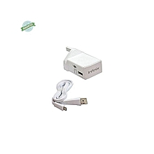 INFINIX FAST FLASH 3 PIN CHARGER - WHITE