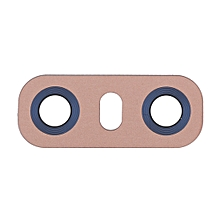 iPartsBuy for LG G6 H870/H871/H872/ LS993 Back Camera Lens with Adhesive(Gold)