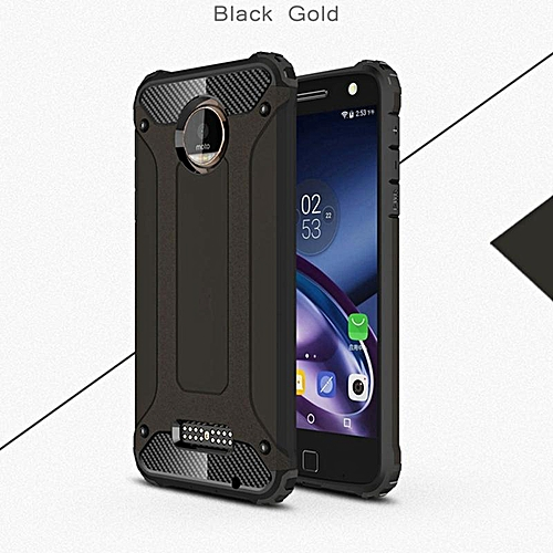 quality design 0b404 79523 For Moto Z Play Cover For Motorola Moto Z Play Case Silicone Rugged Rubber  Heavy Duty Armor Phone Bag Case For Moto Z Play Case (Black)