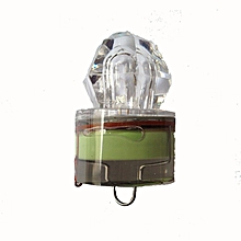 LED Deep Drop Underwater Diamond Fishing Flashing Light Bait Lure Squid GN