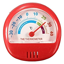 6.2CM Fridge Thermometer Refrigerator Freezer Indoor Outdoor Factory Thermograph Red
