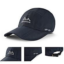 Men Women Quick Drying Summer Sun Hat Foldable Outdooors Sport Climbing Visor Baseball Cap