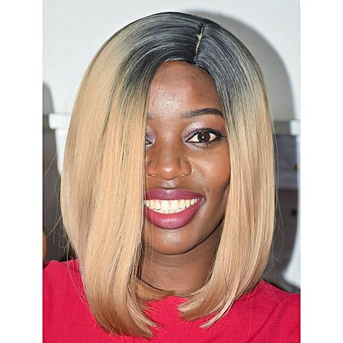 Generic Women s Semi-Human Hair Wig   Best Price  e964d11edc