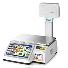 CL7200 Multimedia Touchscreen Scale - 30kg (max)