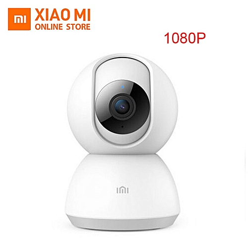2019 Updated Xiaomi Mijia 360 Angle CCTV Webcam 1080P HD Smart IP Camera  Night Vision security home wifi camera(only Camera)