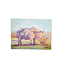 'Rhinoceros' by Moses Mukono