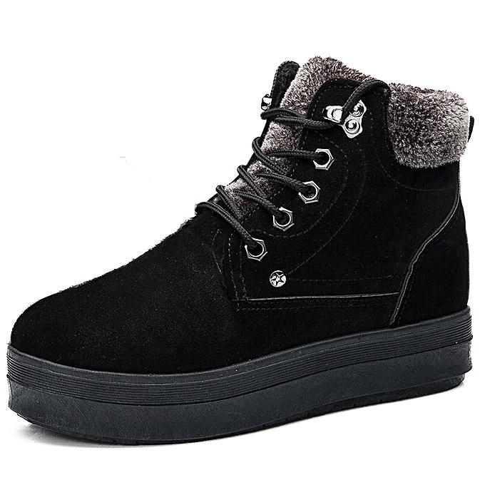 885cc1ef3 Women Boots 2017 Winter Boots Women Warm Fur Ankle Boots For Women Warm  Winter Shoes Botas
