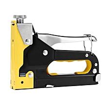 HEAVY DUTY STAPLE TACKER UPHOLSTERY STAPLER + 1500 Nails Fastener Tool Kit