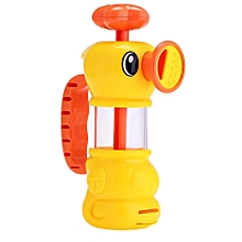 Lovely Duck Pattern Bath Shower Water Spraying Pumping Toy For Kid