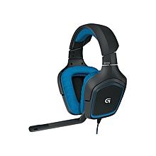 G430 Surround Sound Headset Black