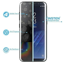 Full Cover Tempered Glass Film Screen Protector For Samsung Galaxy S8-Clear