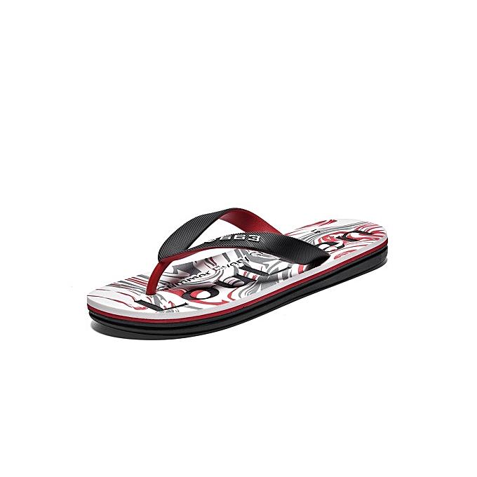 60594782355 Great Super Large Size Men s EVA soft-bottomed flip flops Waterproof non- slip breathable