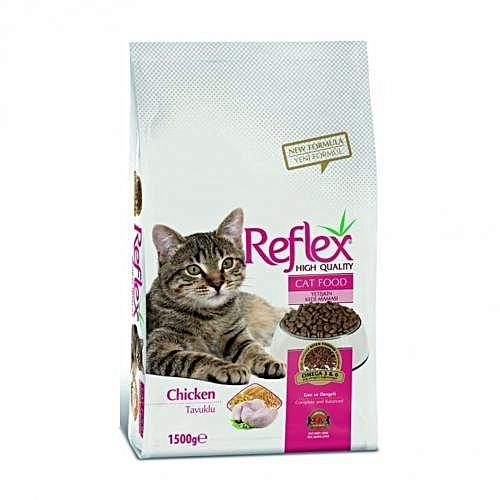 Premium Adult Cat Food Chicken - 1.5kg