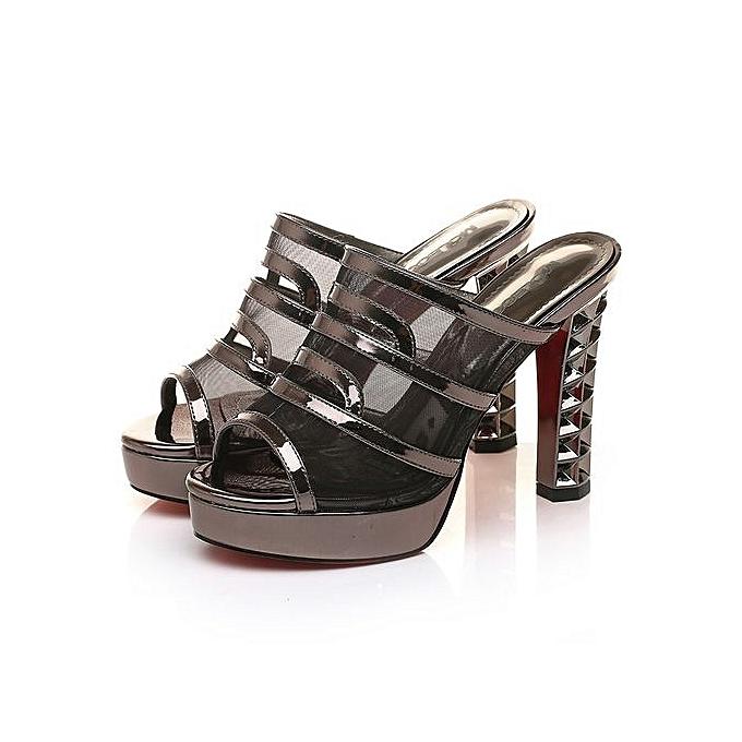 0a2f0f6fa MOLECOLE 2016 New Women Sandals Hollow Out Platform Heels Slippers Woman  Platform Wedges Summer Shoes Pumps