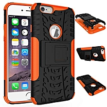 "For IPhone [6S Plus] Case, Hard PC+Soft TPU Shockproof Tough Dual Layer Cover Shell For 5.5"" IPhone [6 Plus], Orange"