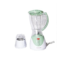 Blender with Grinder - 1.5L- White & Green