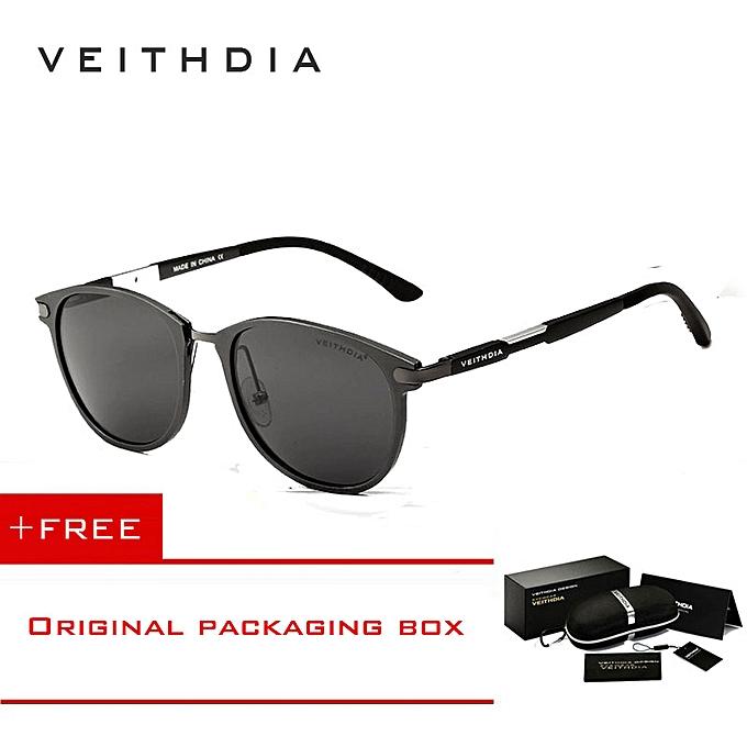 688f3cfbe4c2 VEITHDIA Brand Unisex Retro Aluminum Magnesium Sunglasses Polarized Lens  Vintage Outdoor Eyewear Accessories Sun Glasses 6680