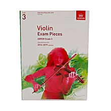 Violin Exam Pieces – Grade 3 - White
