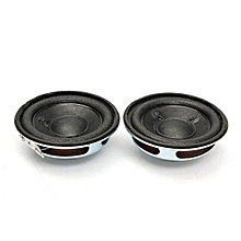 2pcs 2'' 8Ohm 8Ω 5W Omni Full-range Audio Speaker Stereo Bass Woofer Loudspeaker