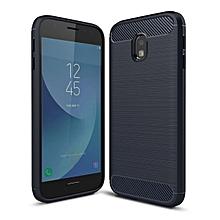 Galaxy J3Pro J330 2017 Case, Ultra-thin Brushed Carbon Fiber Slim Armor Soft TPU Phone Back Full Cover Case For Samsung Galaxy J3Pro (2017) / J330 (2017)